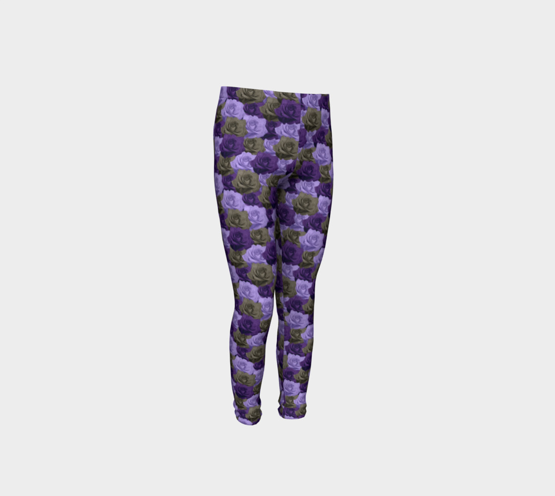 Roses Youth Leggings preview #4