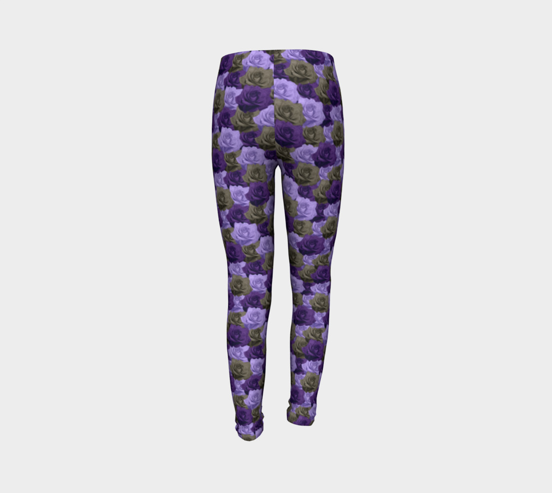 Roses Youth Leggings preview #7