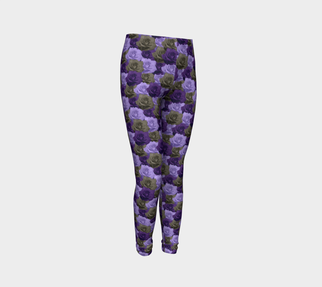 Roses Youth Leggings preview #3