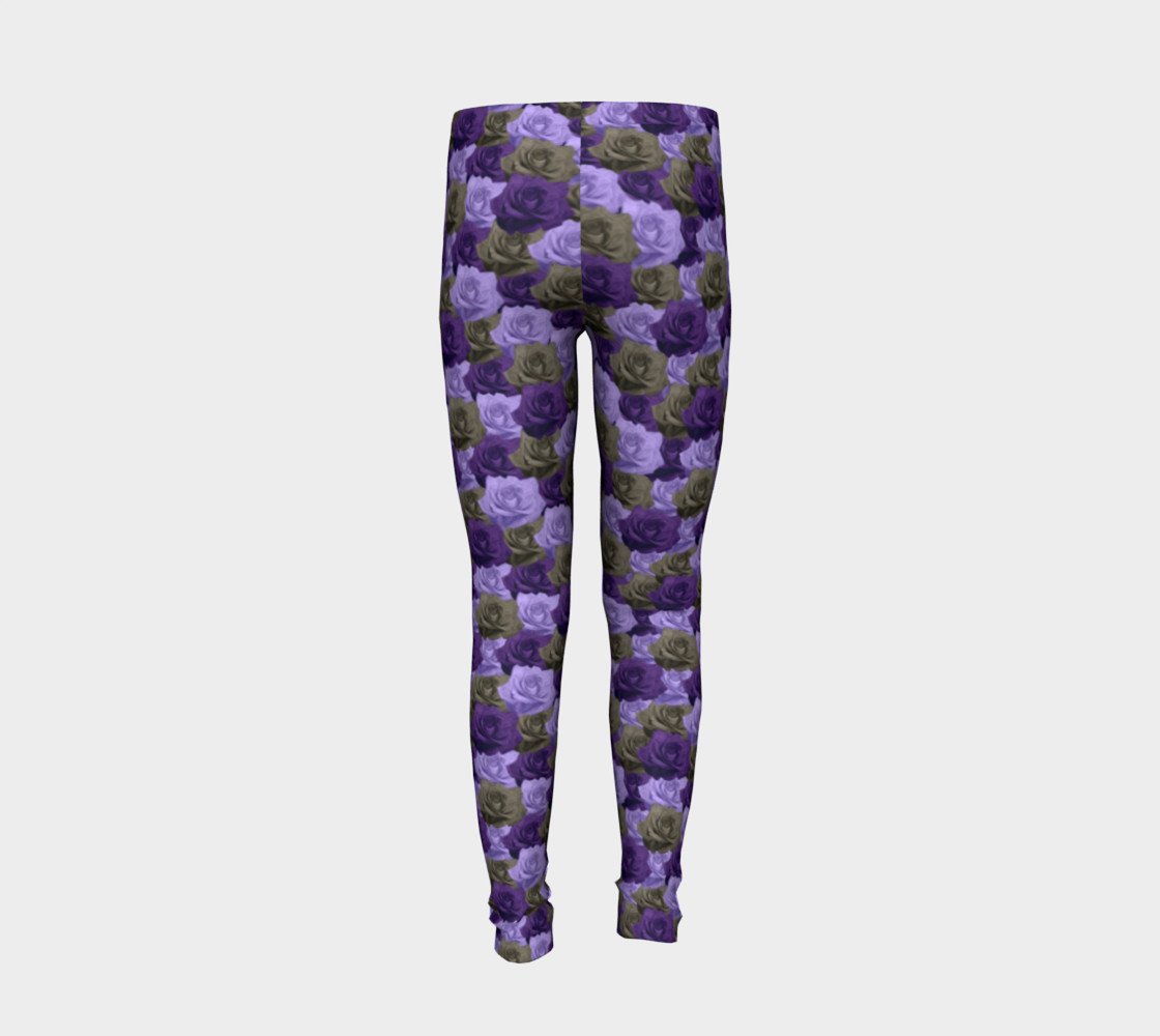 Roses Youth Leggings preview #6