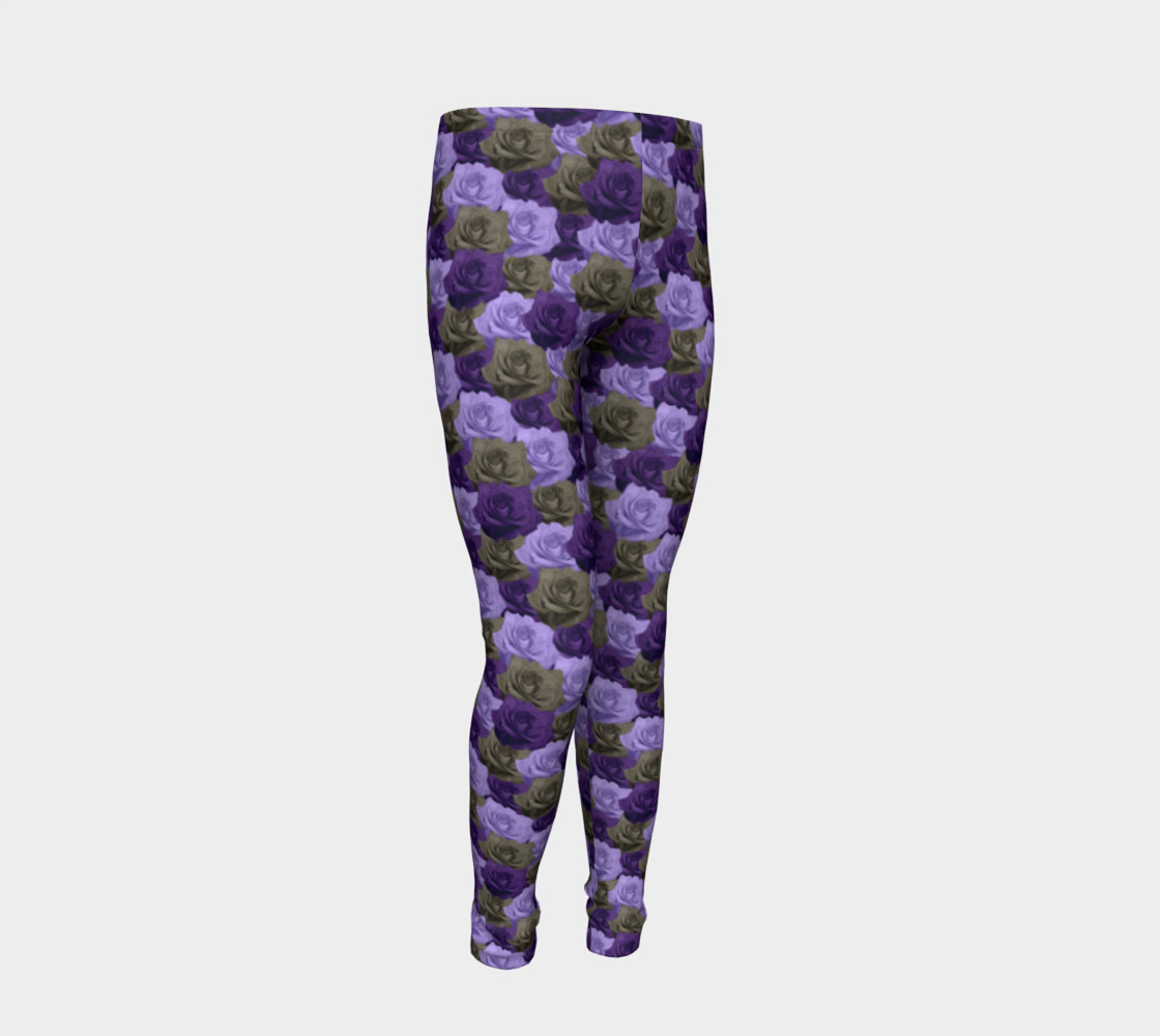 Roses Youth Leggings preview #2