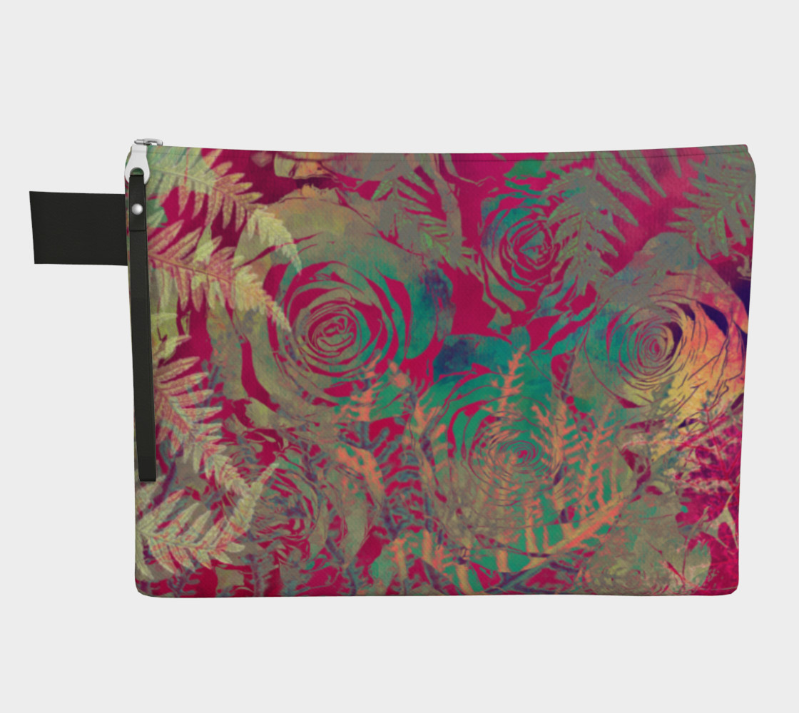 Flowers  zipper carry all preview #1