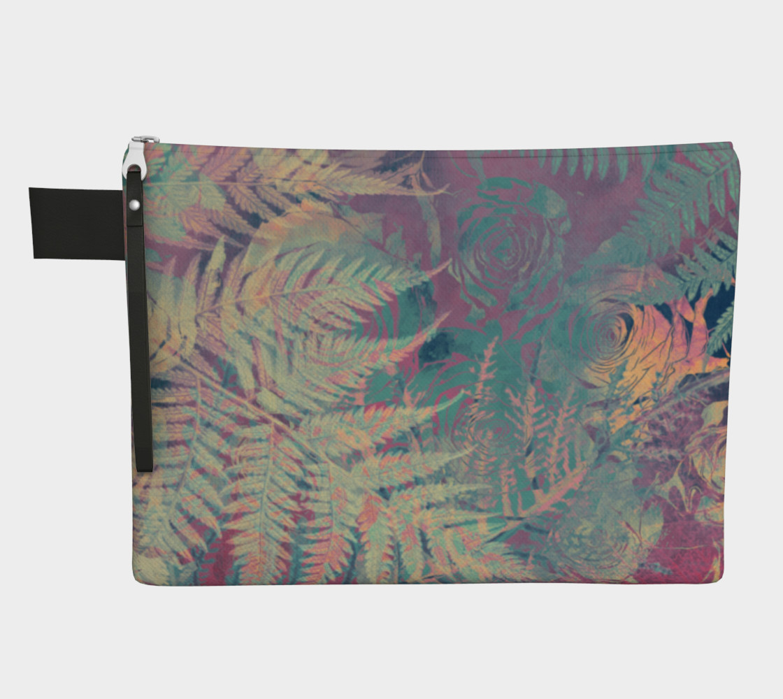 Flowers pastel zipper carry all preview #1