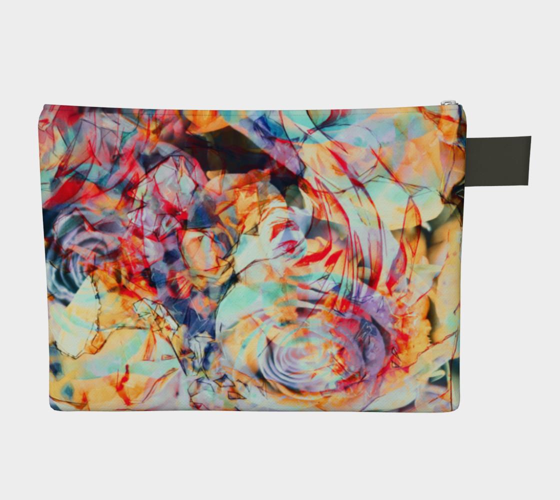 Flowers art  zipper carry all preview #2