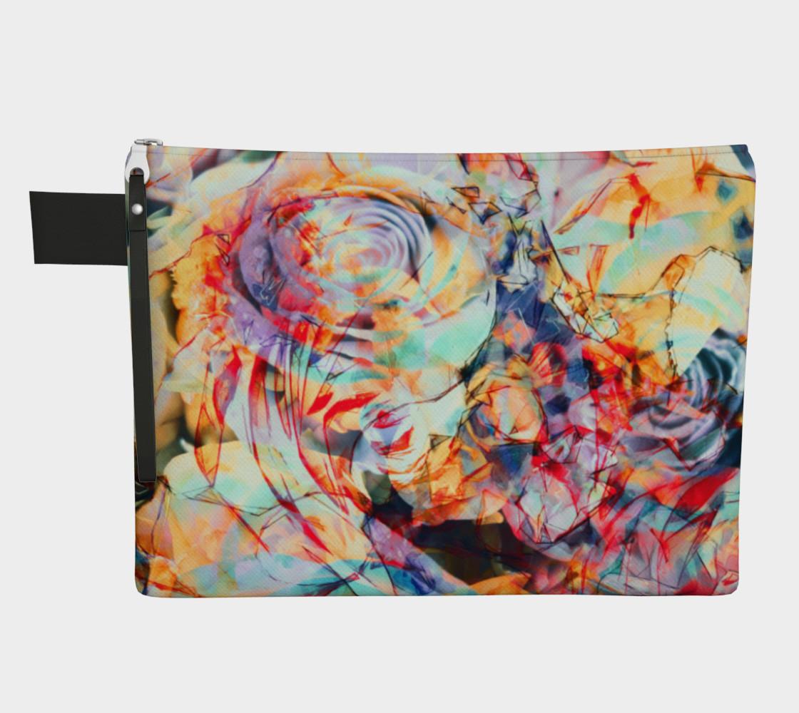 Flowers art  zipper carry all preview #1
