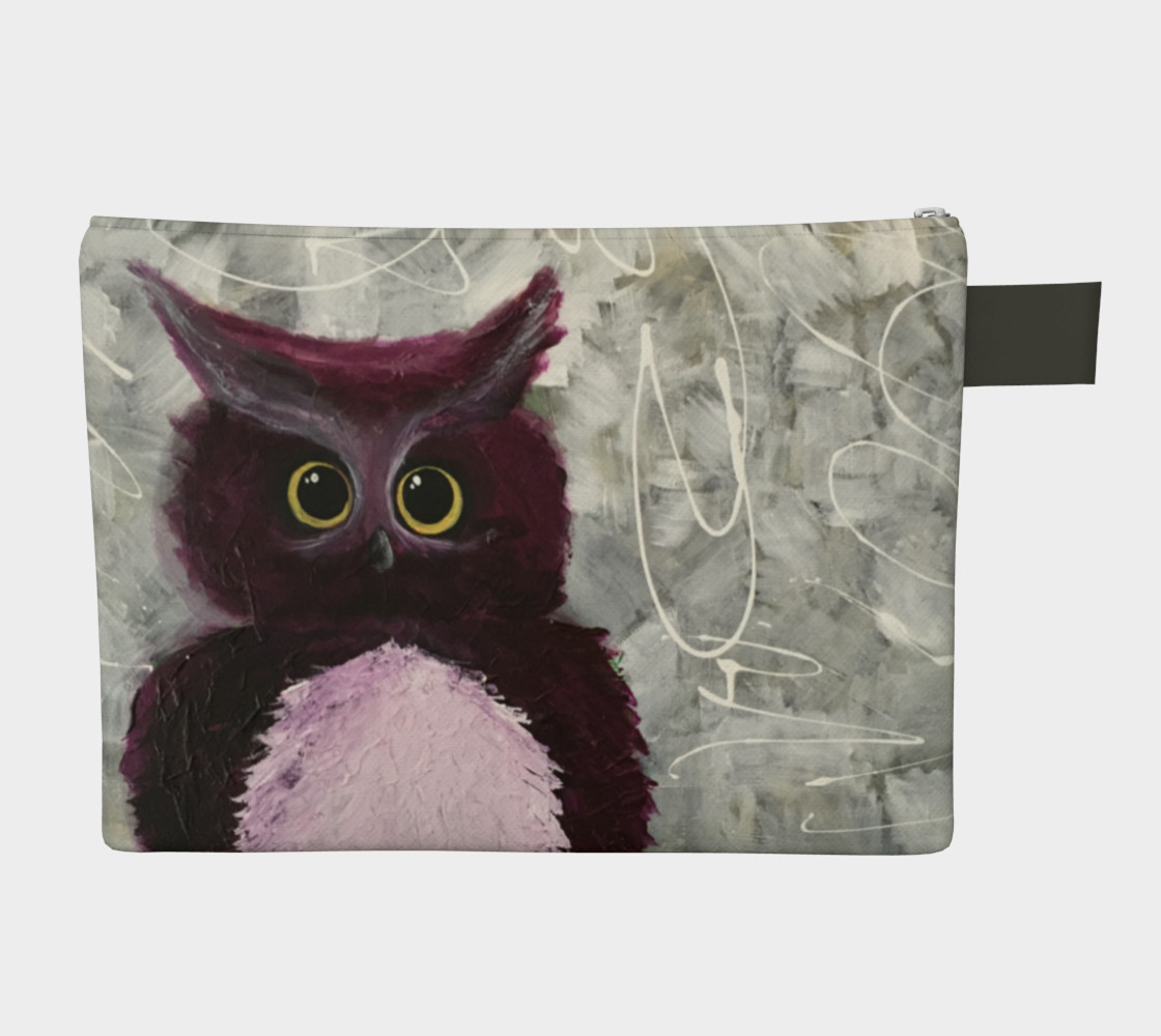 Mulberry Owl Zipper-All preview #2