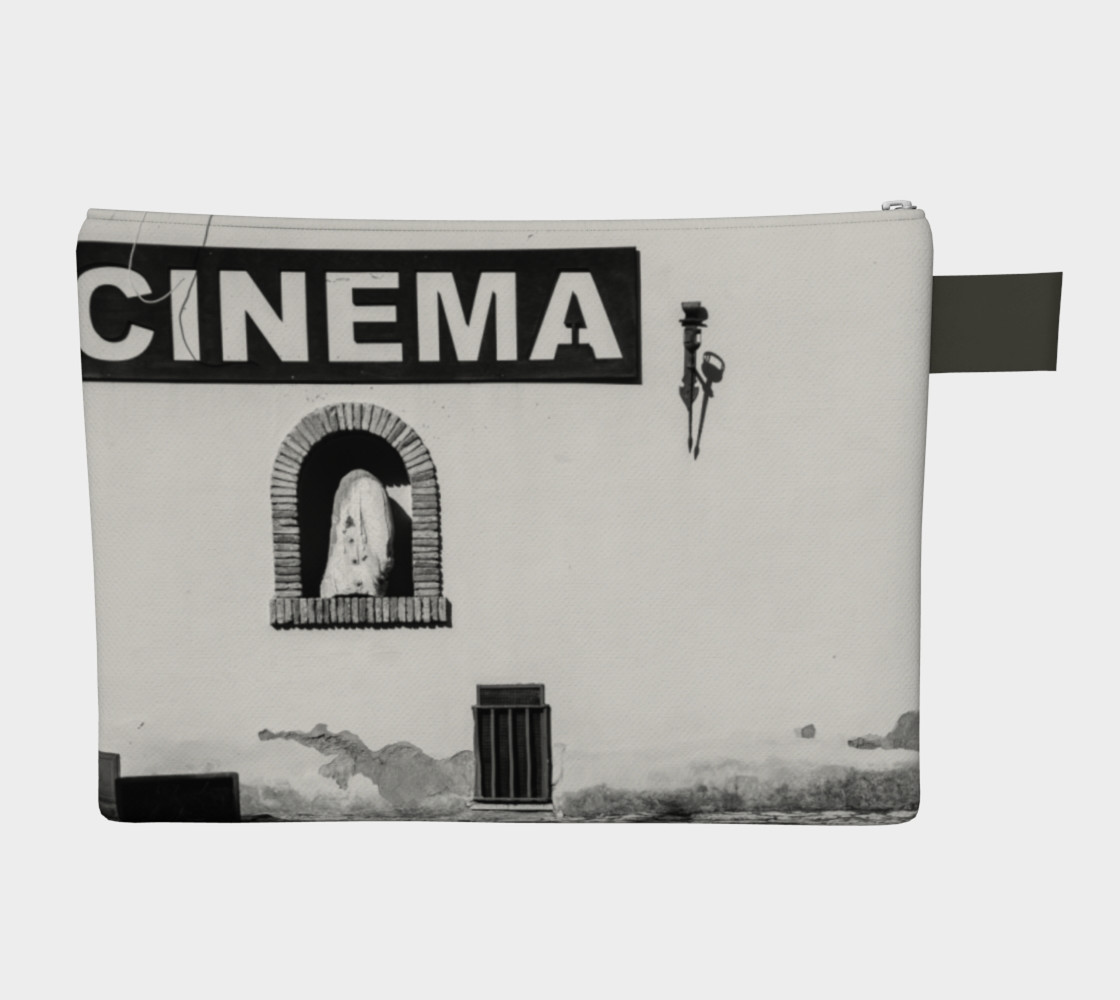 Utterly Italy Sabaudia Cinema Zipper Carry-All preview #2