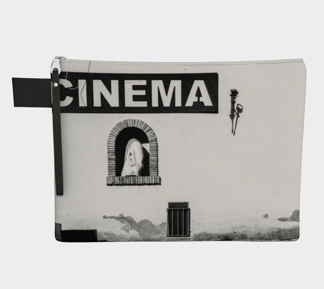 Utterly Italy Sabaudia Cinema Zipper Carry-All preview #1