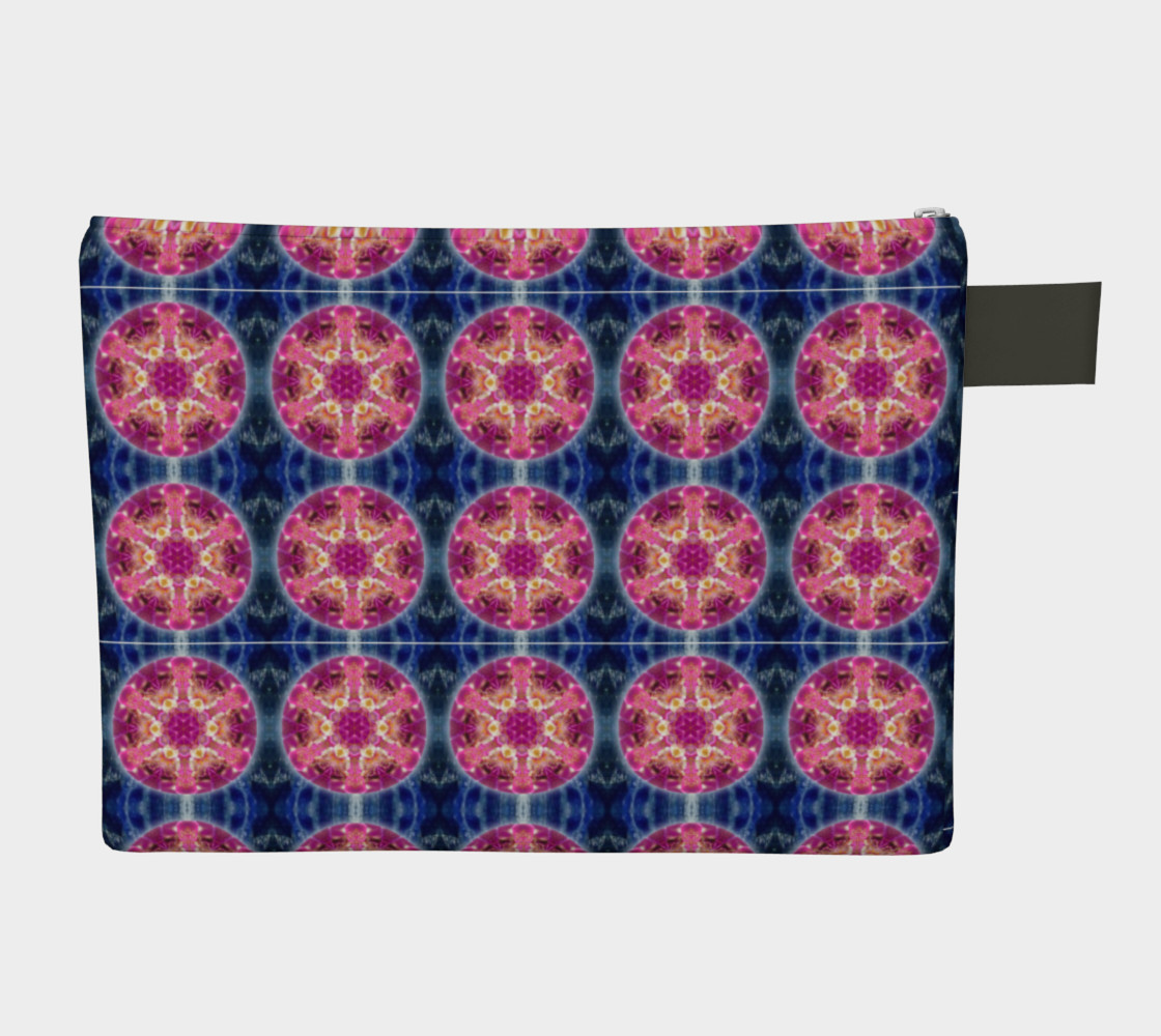 Cosmic Love Mandala Zipper Carry-All preview #2
