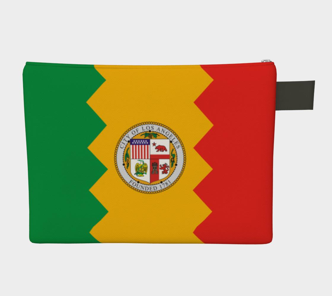 LA Flag Zipper Carry All preview #2