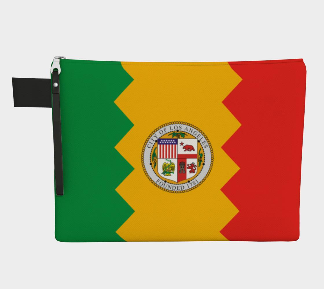 LA Flag Zipper Carry All preview #1