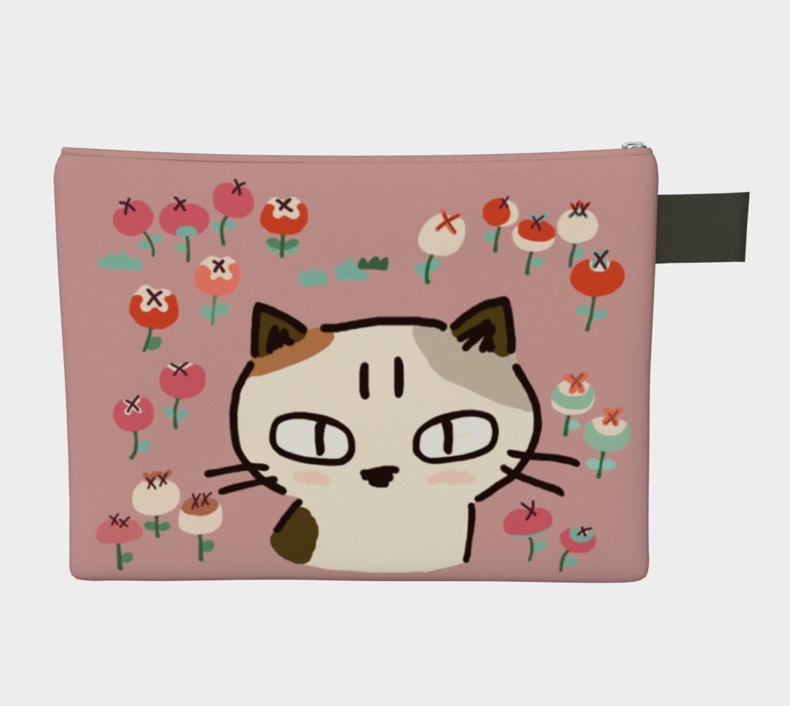 Aperçu de Kitty with an attitude - Flower garden #2