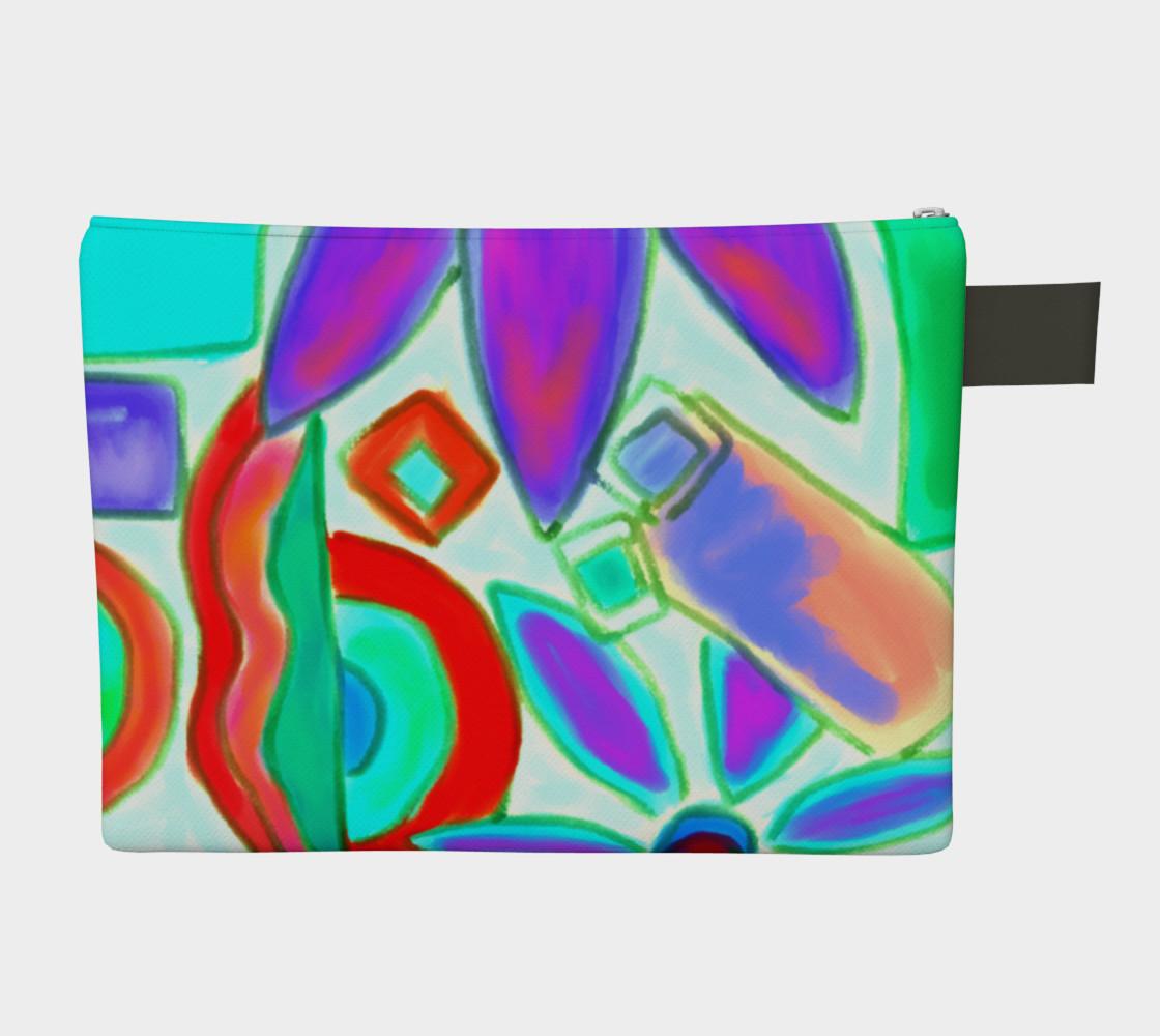 Summer 2 Abstract Art Clutch Bag preview #2