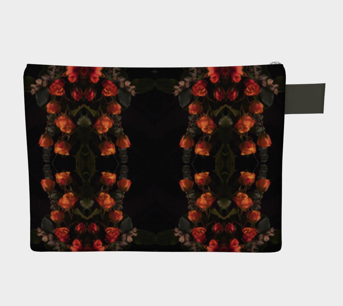 Orange Rose Belle Noir Pattern 1644  Variation 2  preview #2