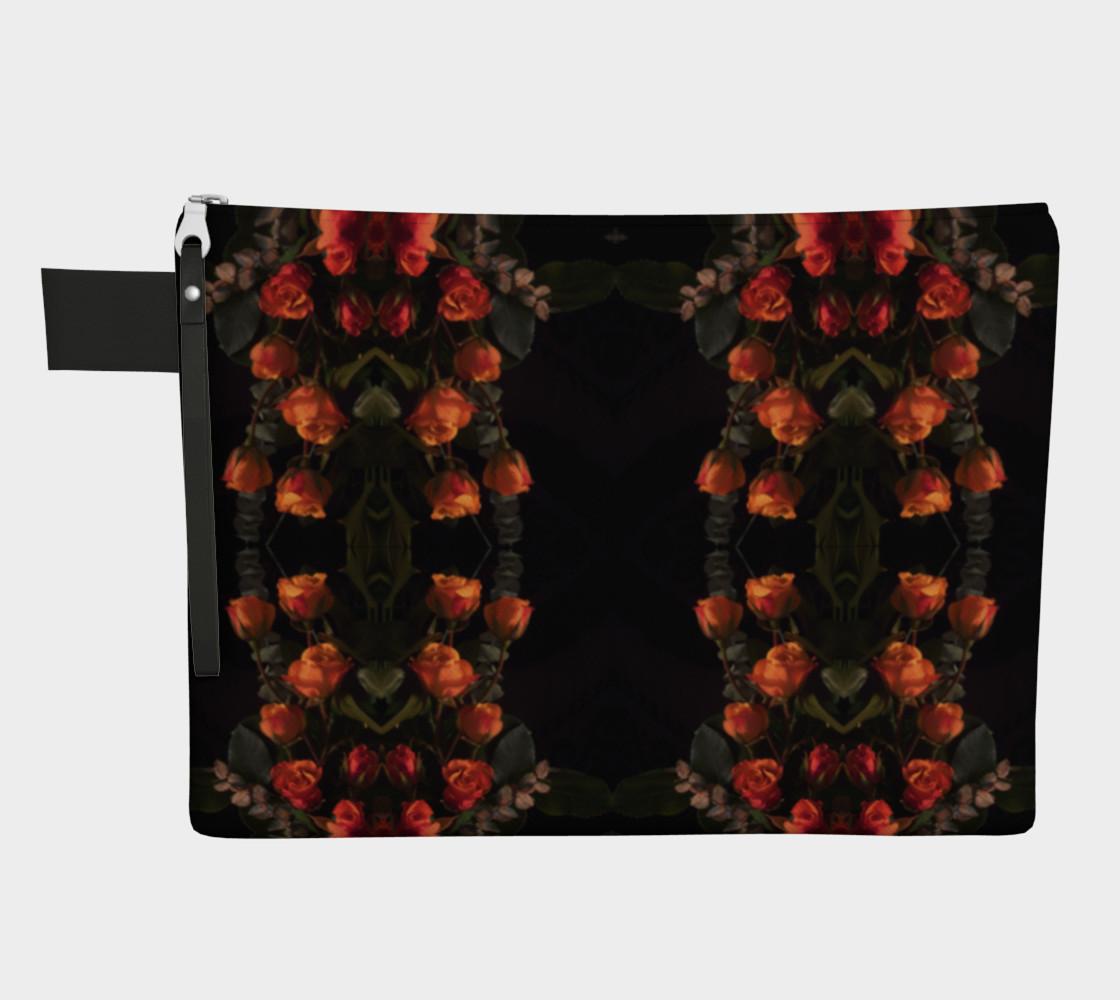 Orange Rose Belle Noir Pattern 1644  Variation 2  preview #1