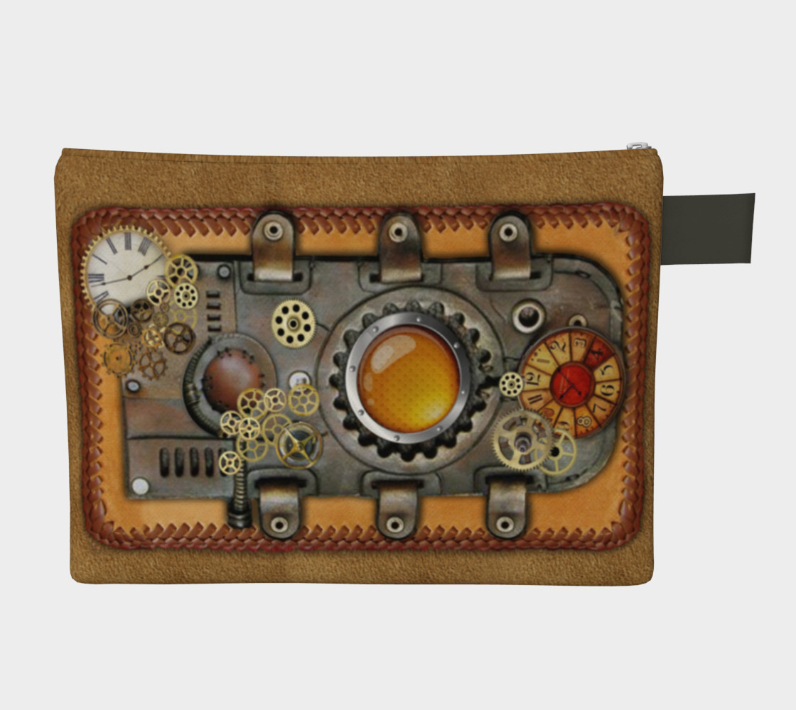 Steampunk on leather preview #2