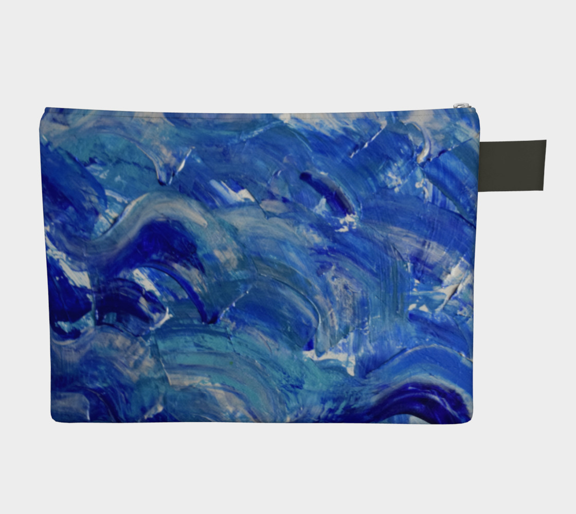 Shimmering Waves art by Janet Gervers preview #2
