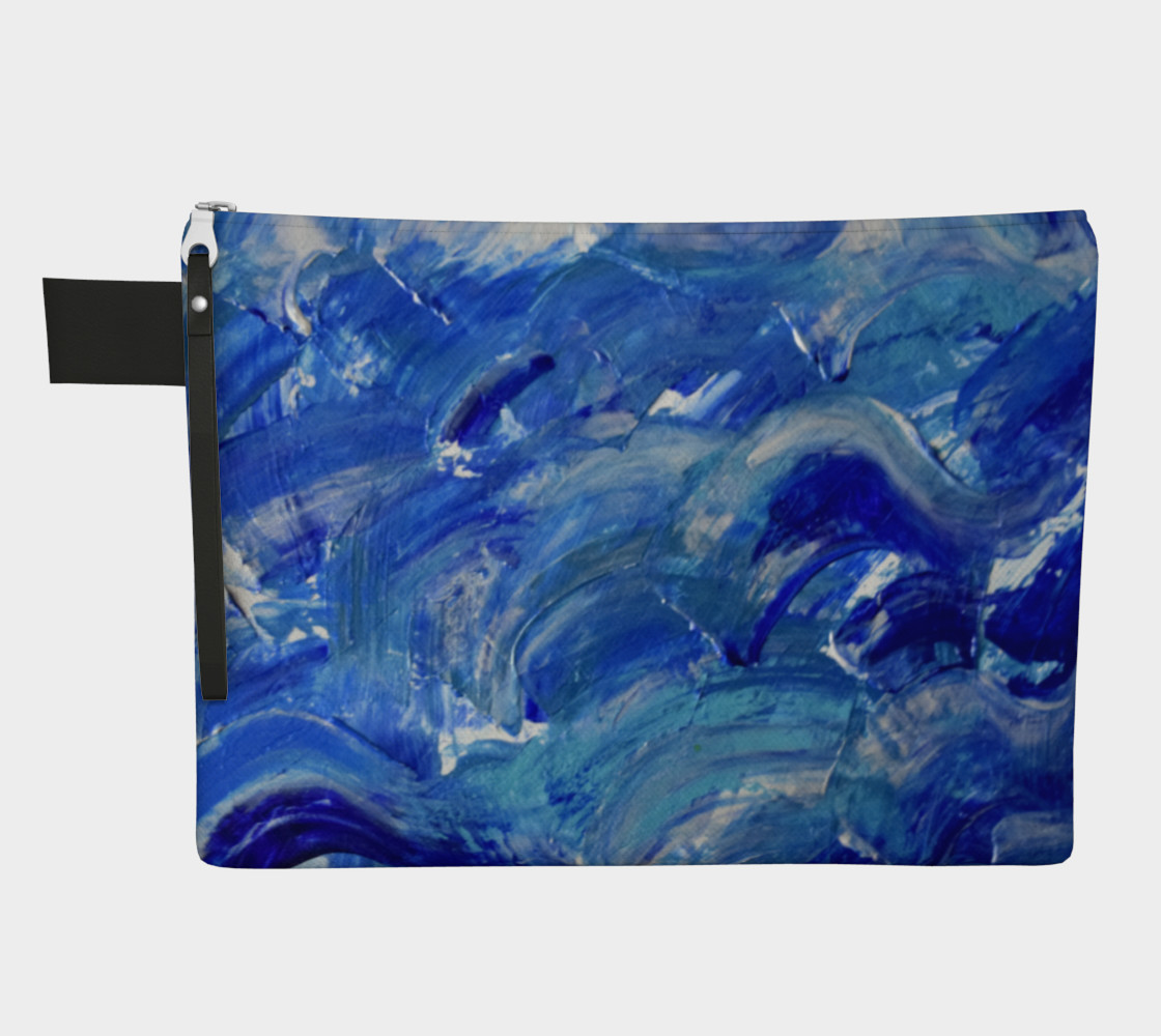 Shimmering Waves art by Janet Gervers preview #1