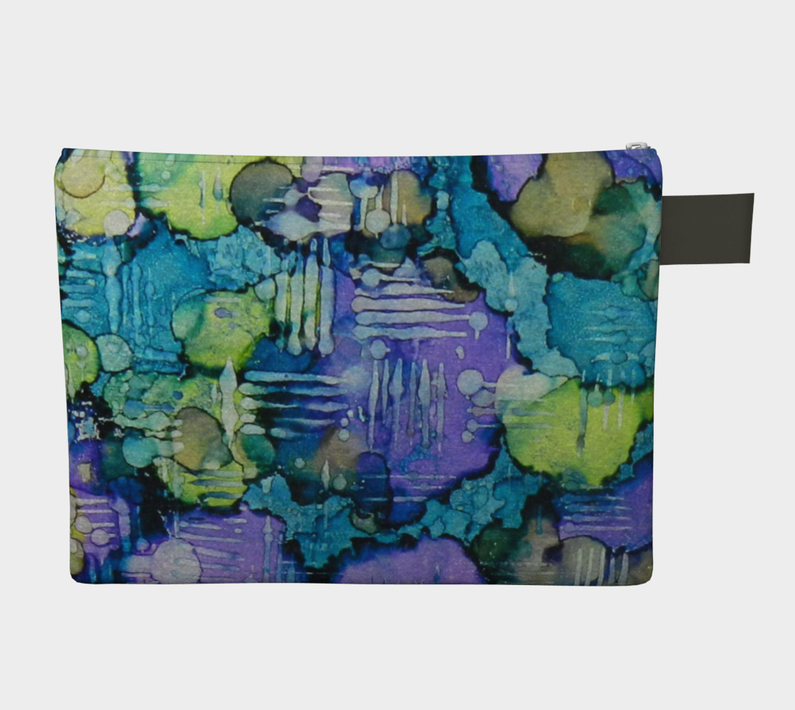 Aperçu de Spring Weave Ink #4 Zipper Carry All #2