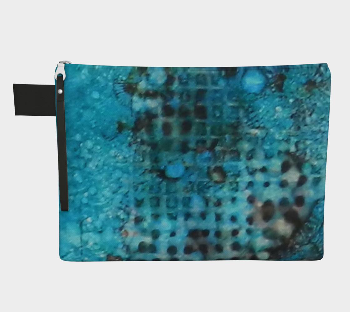 Cerulean Dream Ink #23 Zipper Carry All preview #1