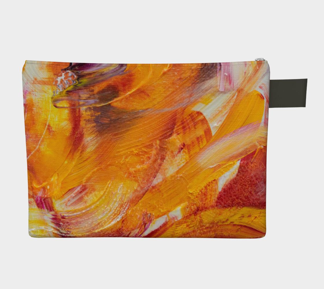 Sun Waves Carryall Zipper Bag preview #2