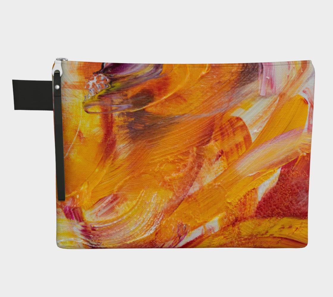 Sun Waves Carryall Zipper Bag preview #1