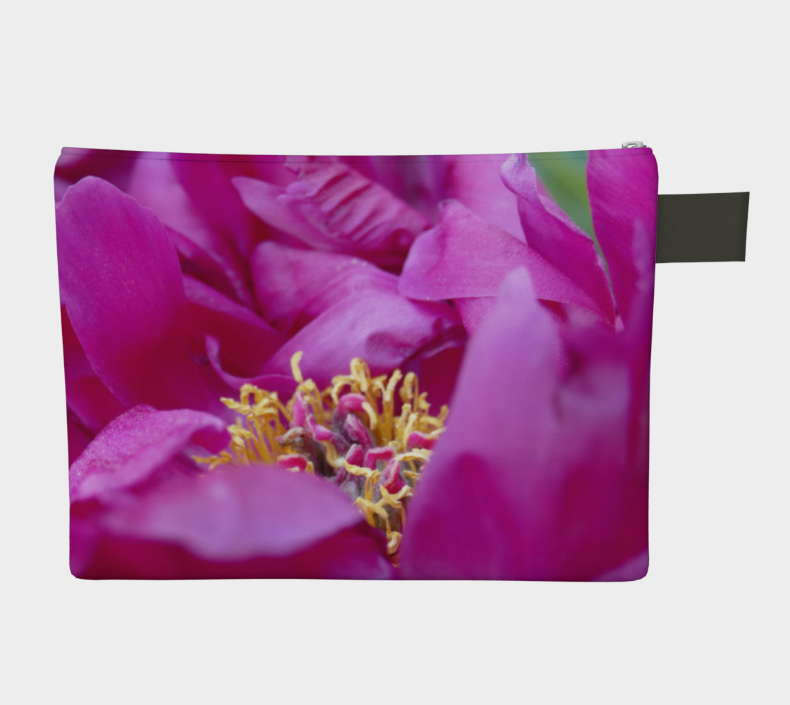 Floral Melody #1 Zipper Carry All preview #2