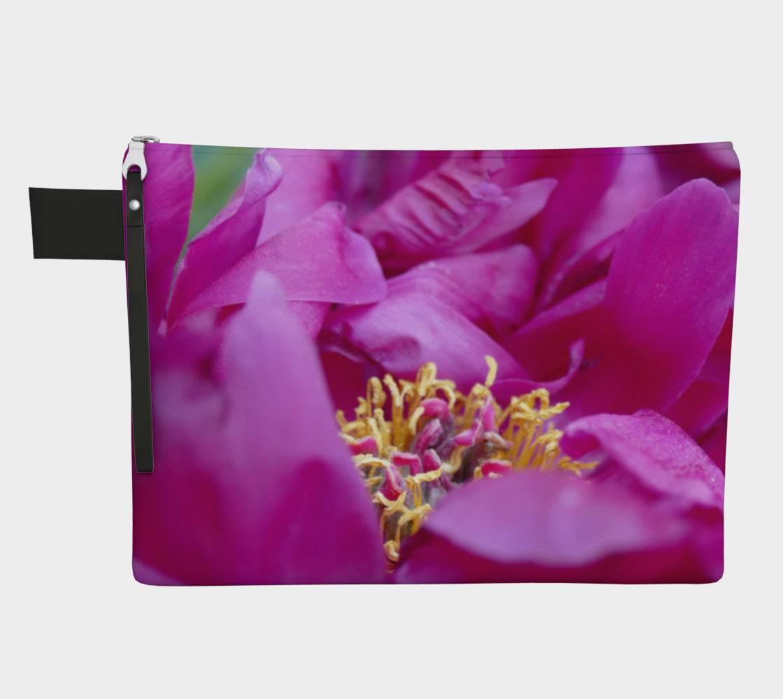 Floral Melody #1 Zipper Carry All preview #1
