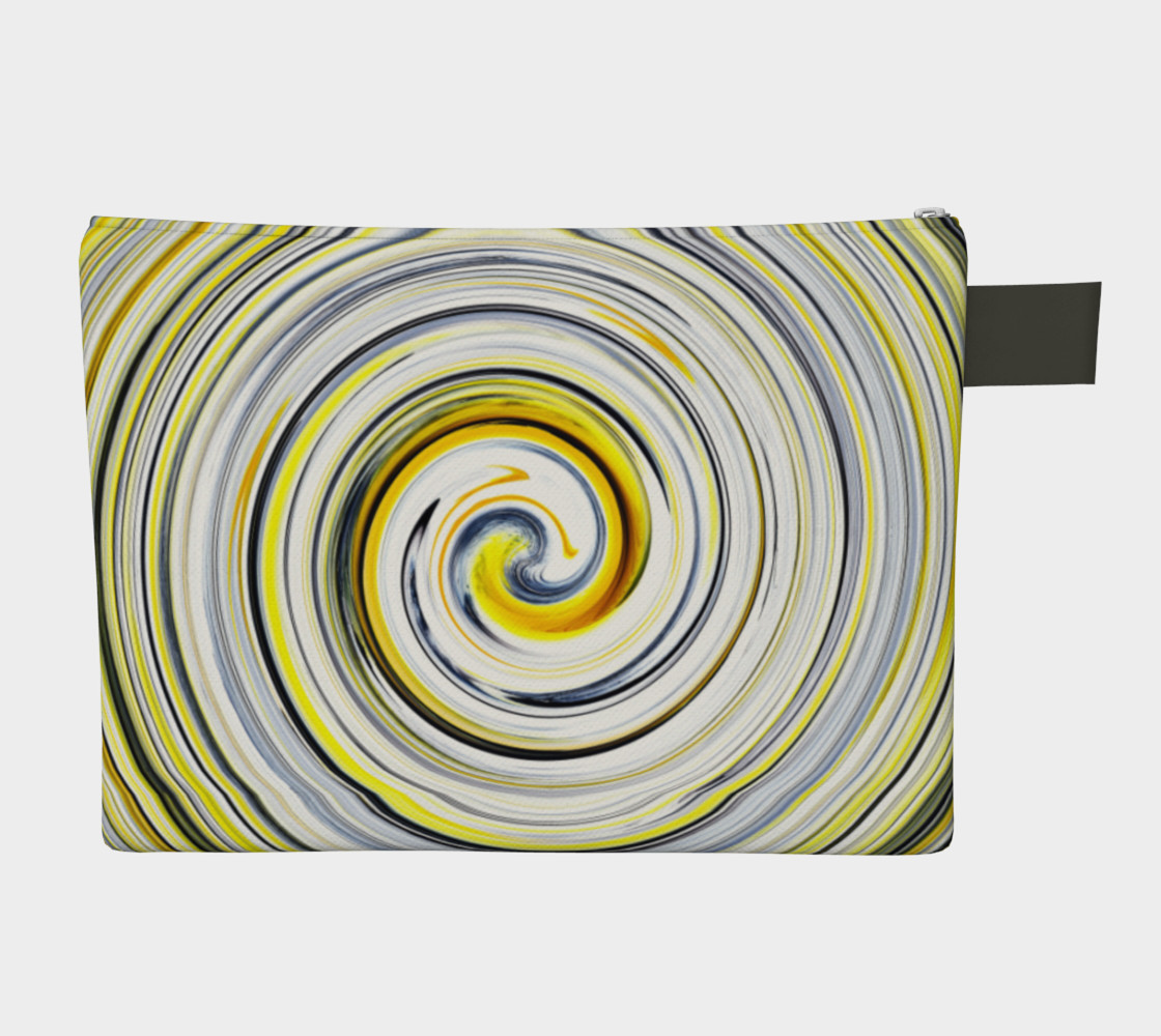 Yellow And Black Funky Swirl preview #2