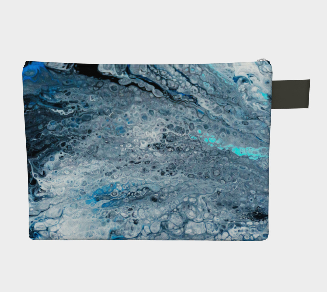 Earth's Oceans Acrylic Pour Art preview #2