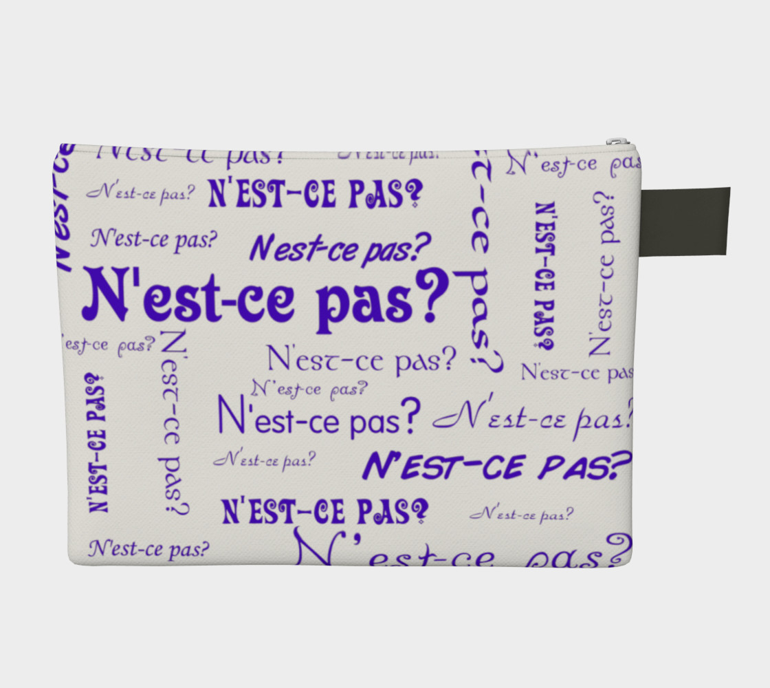Purple N'est-ce Pas Carry-All preview #2