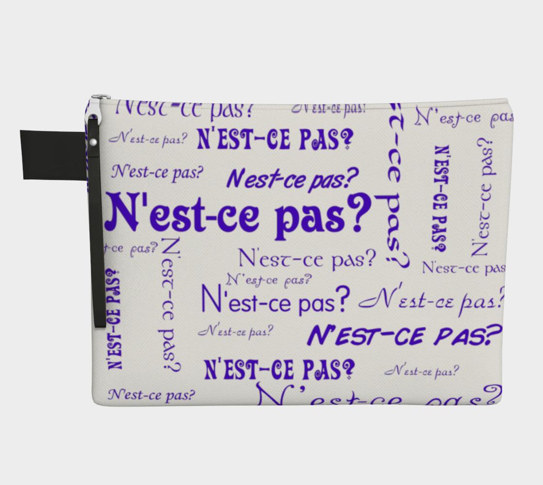 Purple N'est-ce Pas Carry-All preview #1