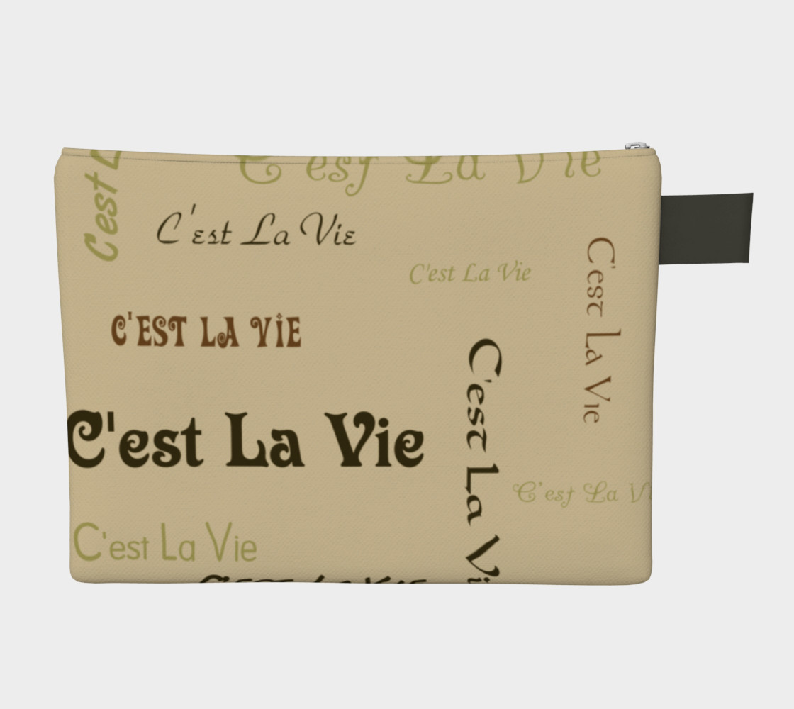 Coffee C'est la Vie Carry-All Miniature #3