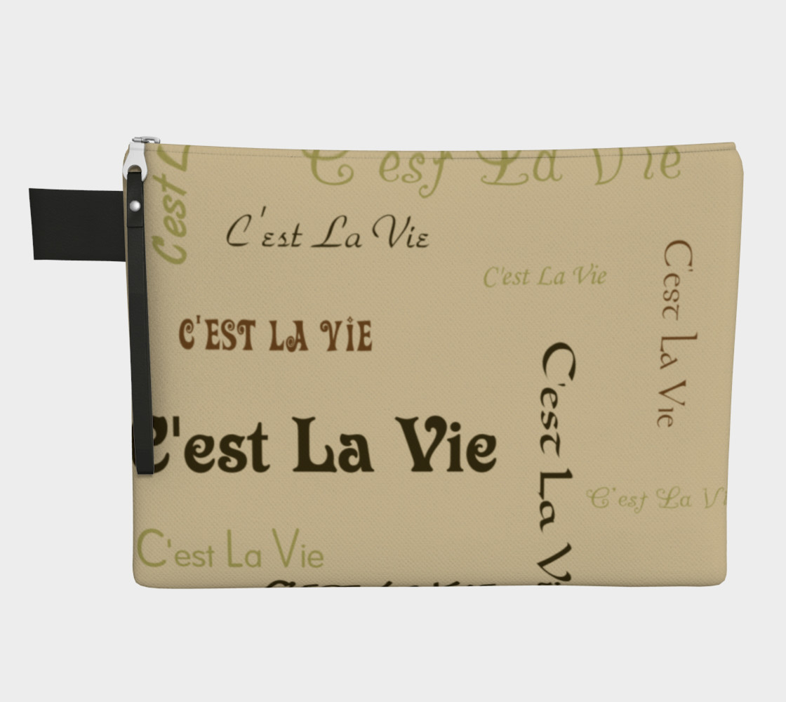 Coffee C'est la Vie Carry-All Miniature #2