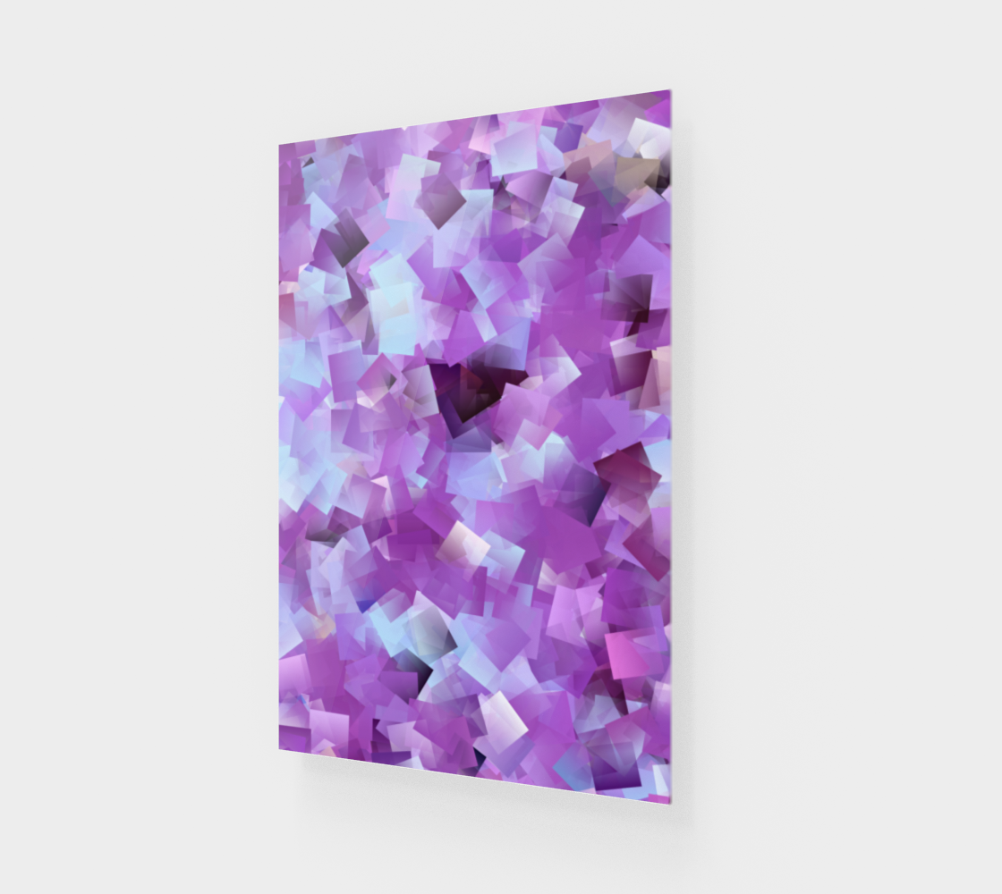 Lilacs And Blue Skies Cubed preview