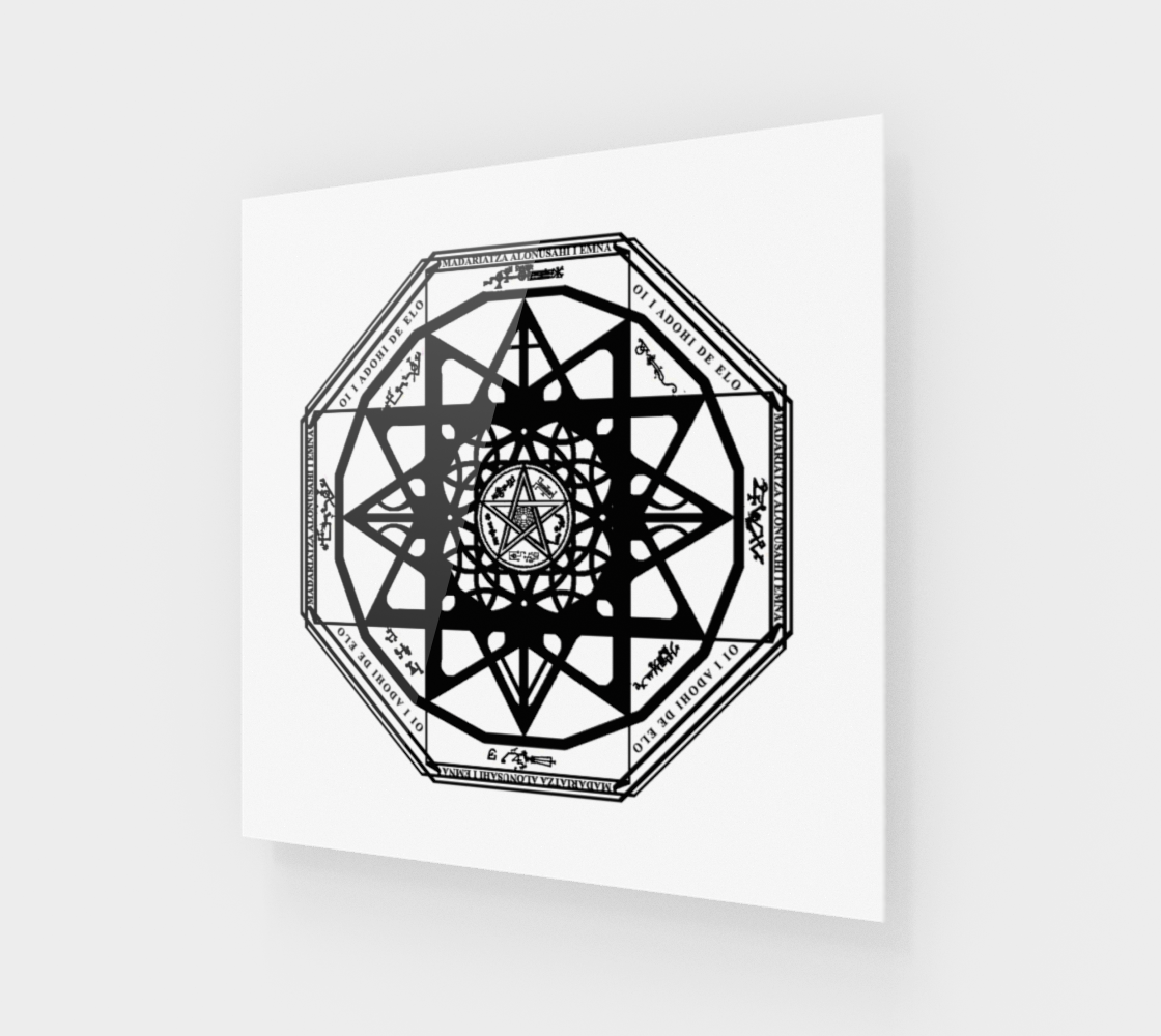 Protection Sigil Basic Print preview #1