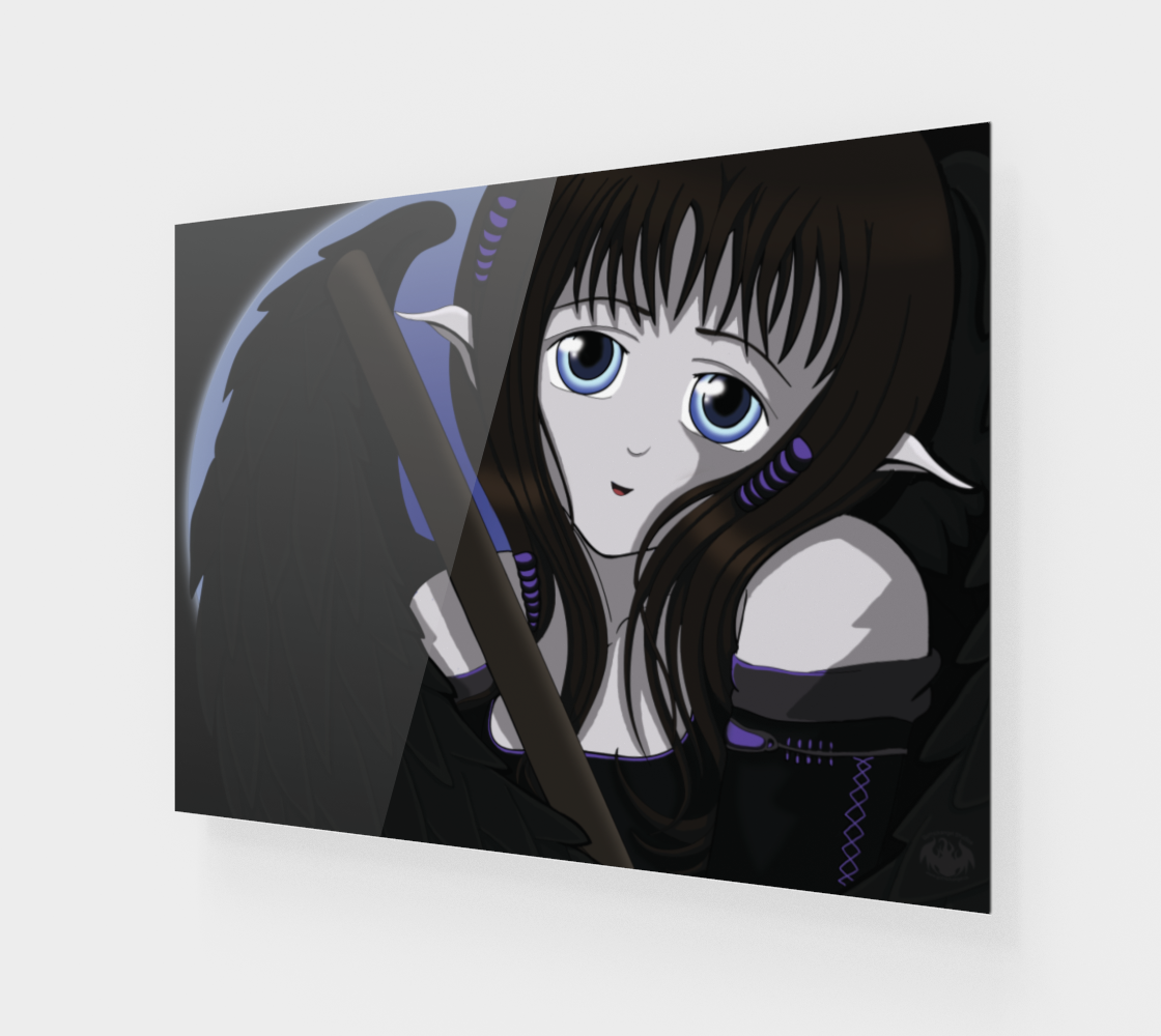 Gothic Angel Purple / Poster Only preview