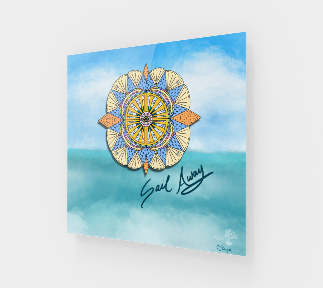 """Sail Away"" Beach Mandala preview #1"