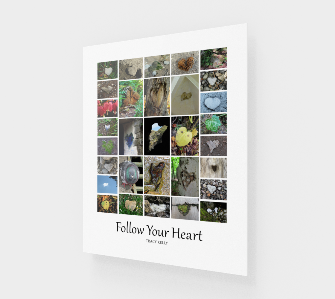 Follow Your Heart Acrylic Print preview