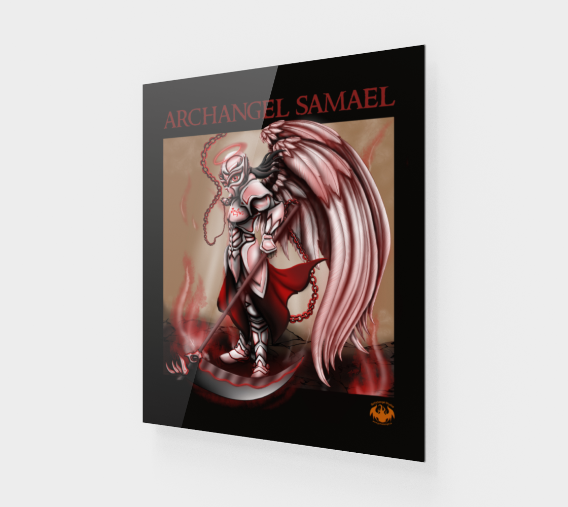 Archangel Samael / Fits Poster, Print Best preview