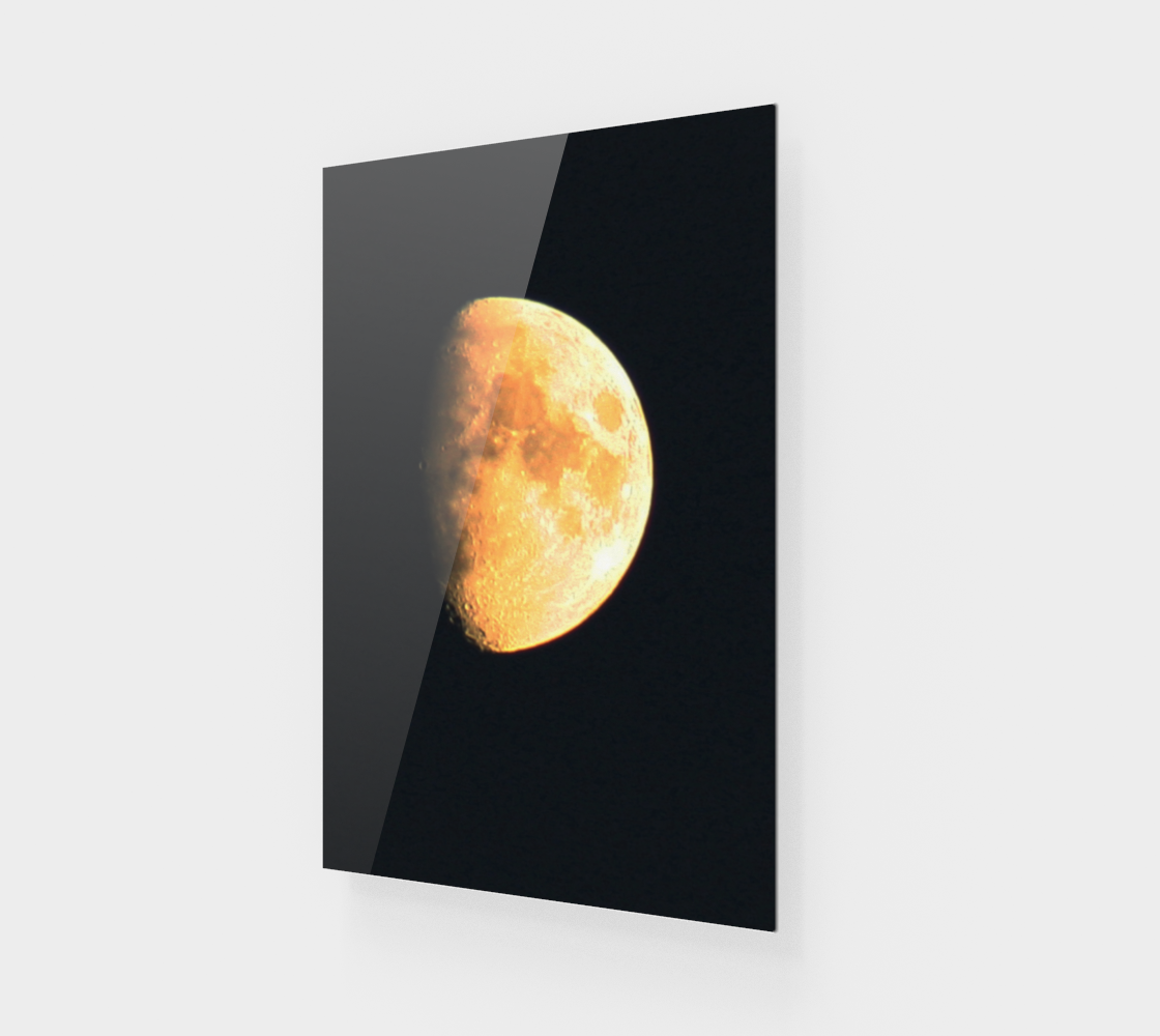 Big Old Moon Acrylic Print preview