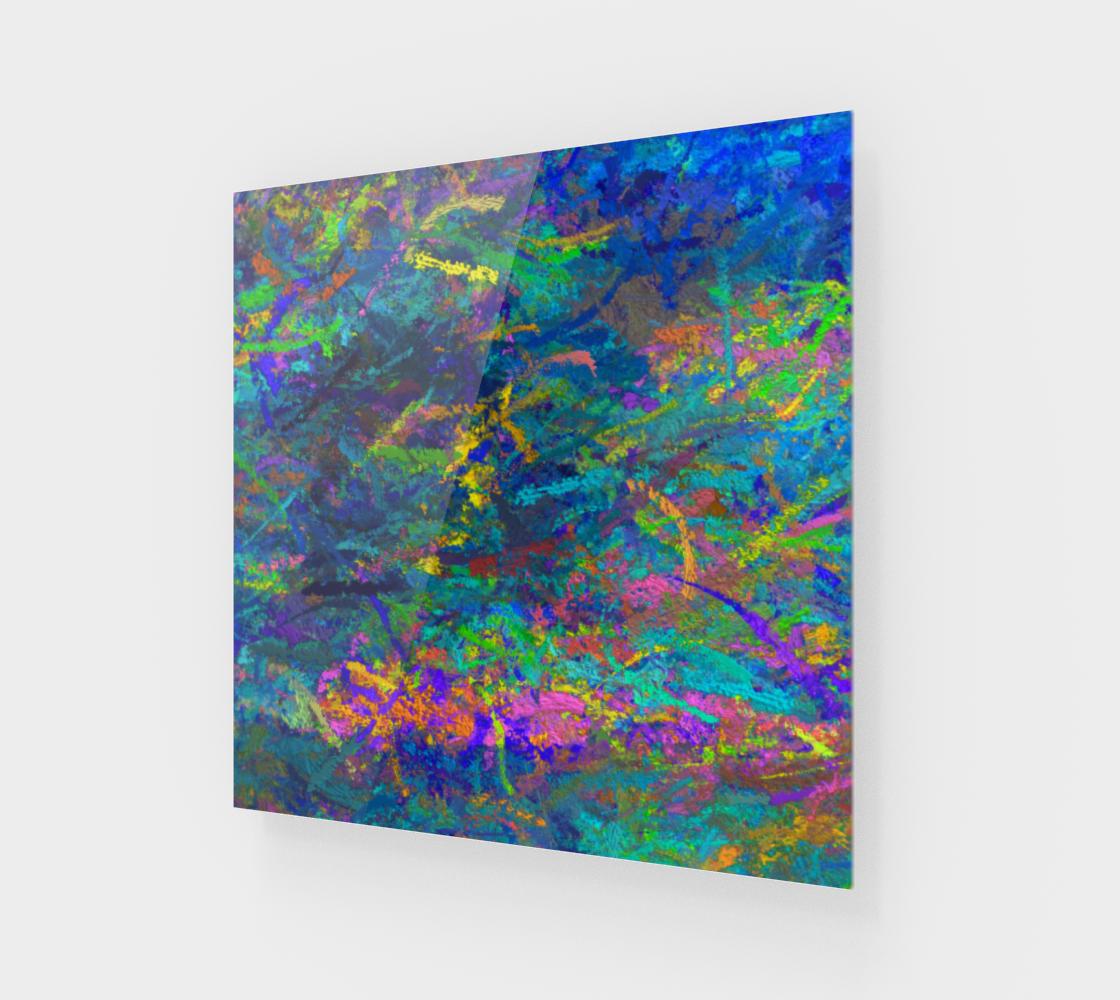 Aperçu de Blue abstraction