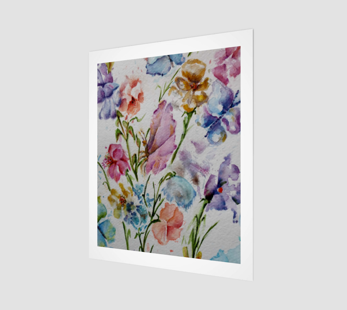 Whimsical Flowers preview