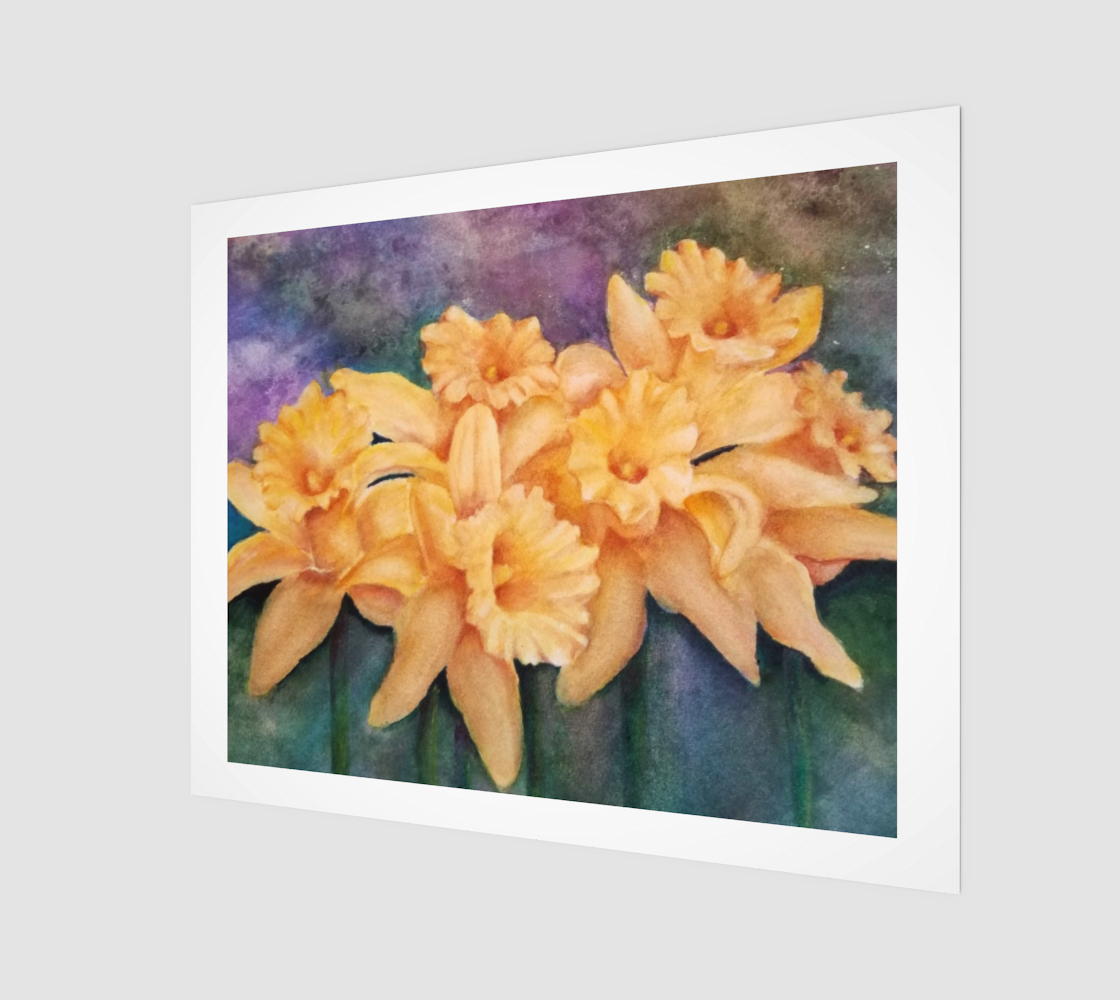 Dazzling Daffodils preview