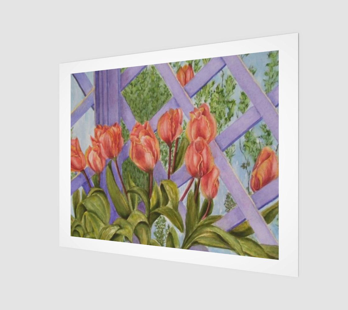 Orange Tulip Bunch preview
