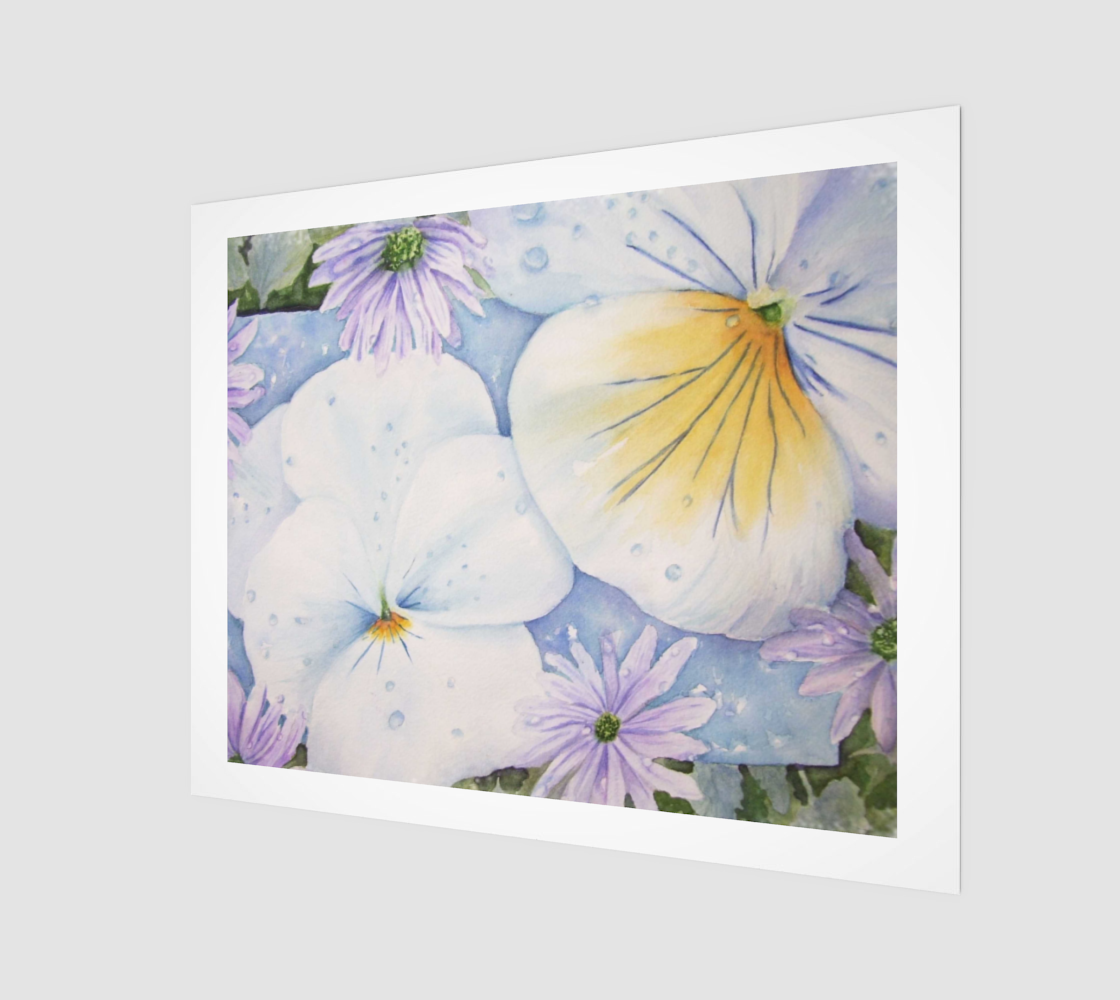 Perky Pansies preview