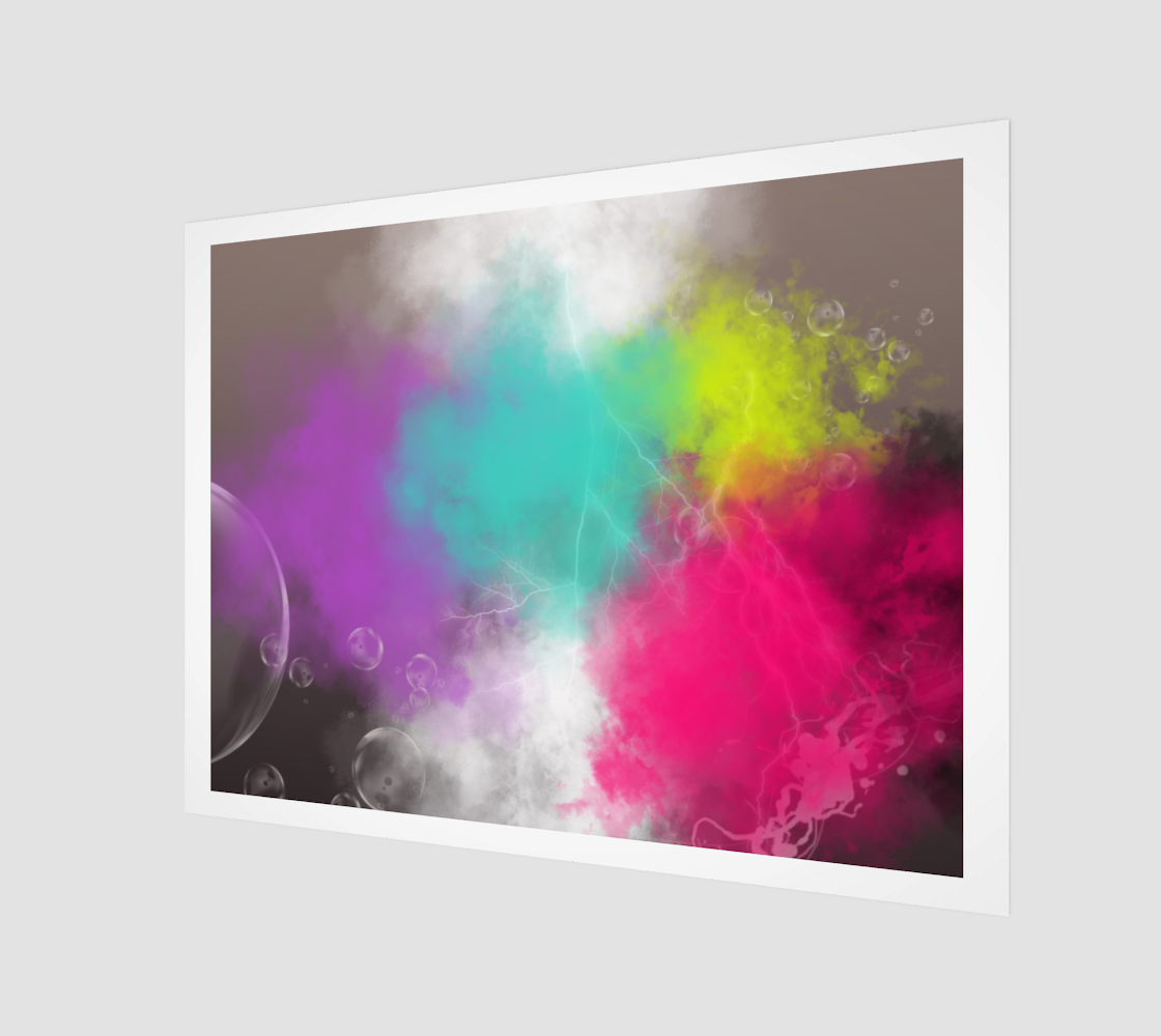 Abstract Clouds Wall Art preview