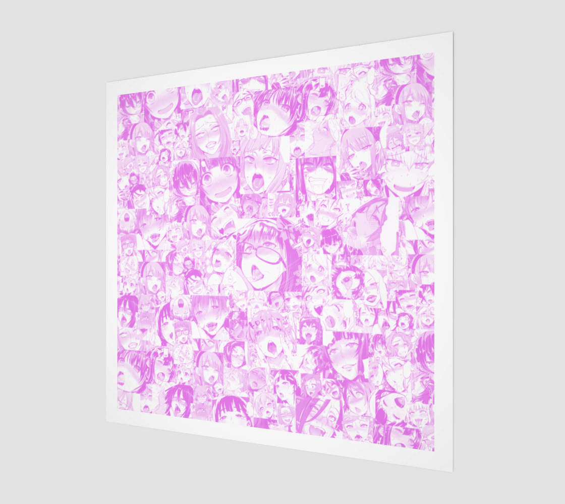 Aperçu de Pink Pastel Ahegao Collage