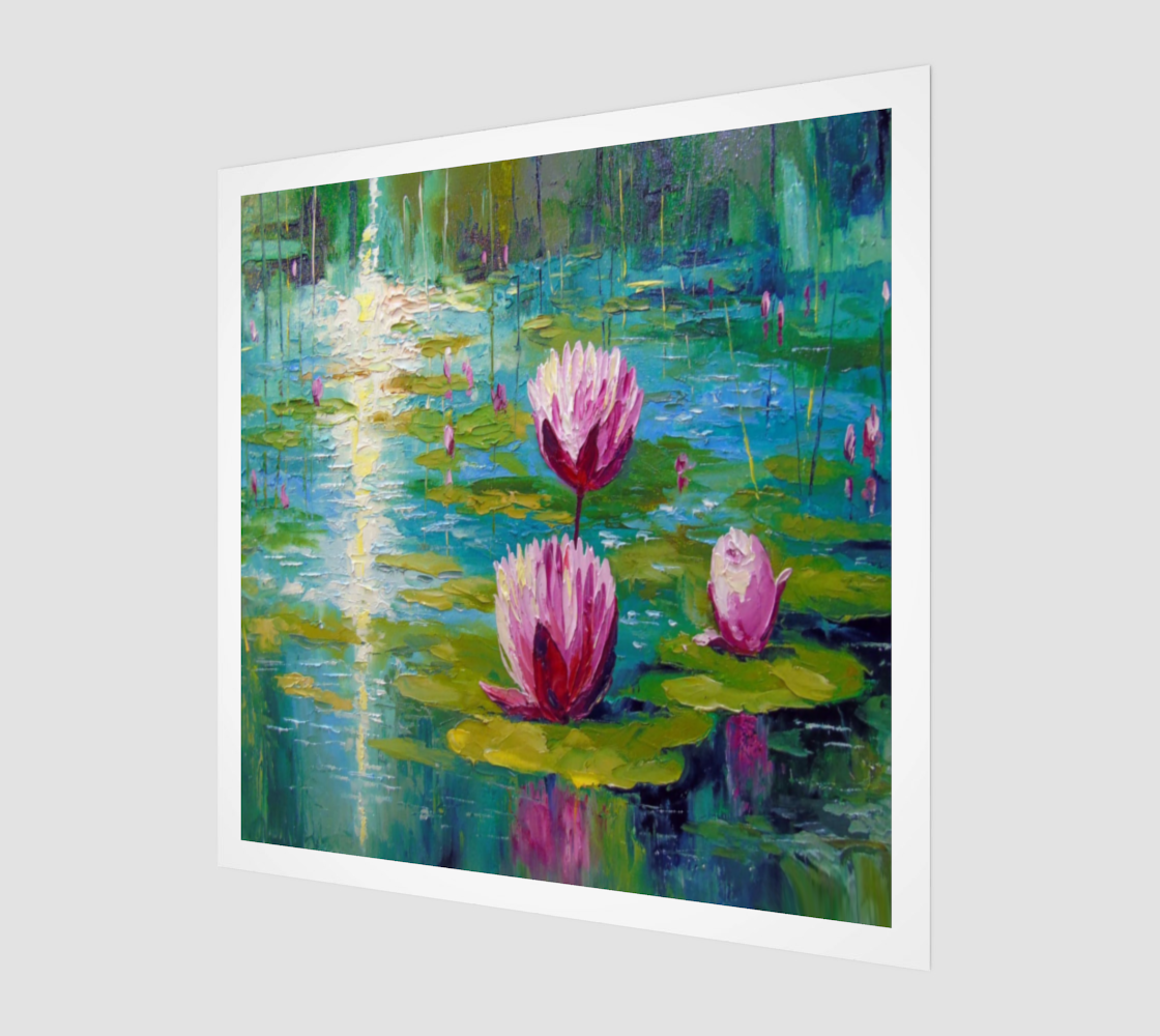 Painted Lotuses preview