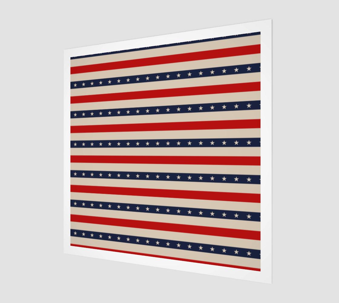 Aperçu de Patriotic Star Pattern